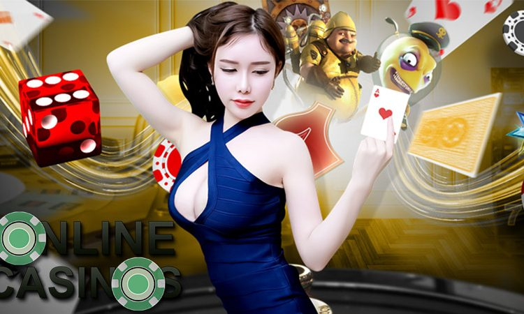 Online casino games include betting